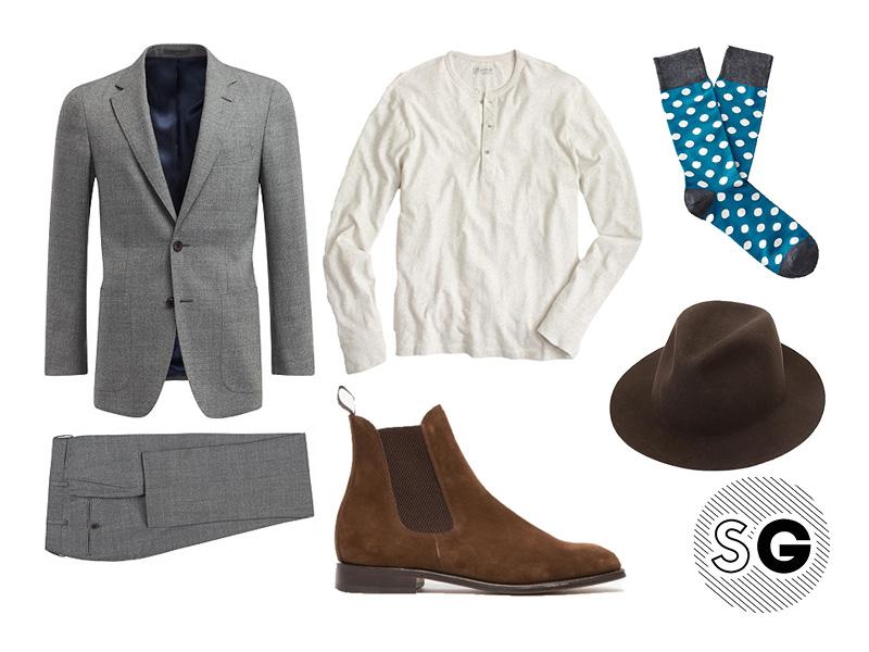 rock, henley, rocker, fun socks, sockgame, polka dots, harry styles