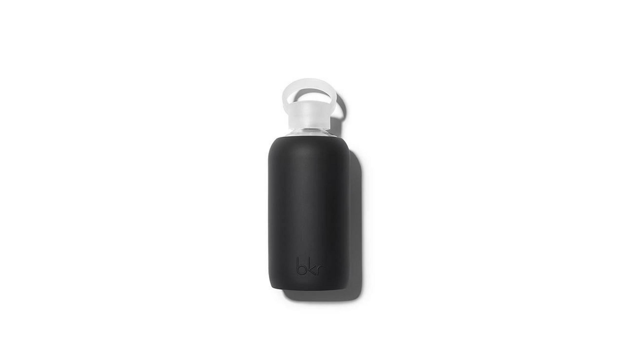 bkr black water bottle, long flight survival