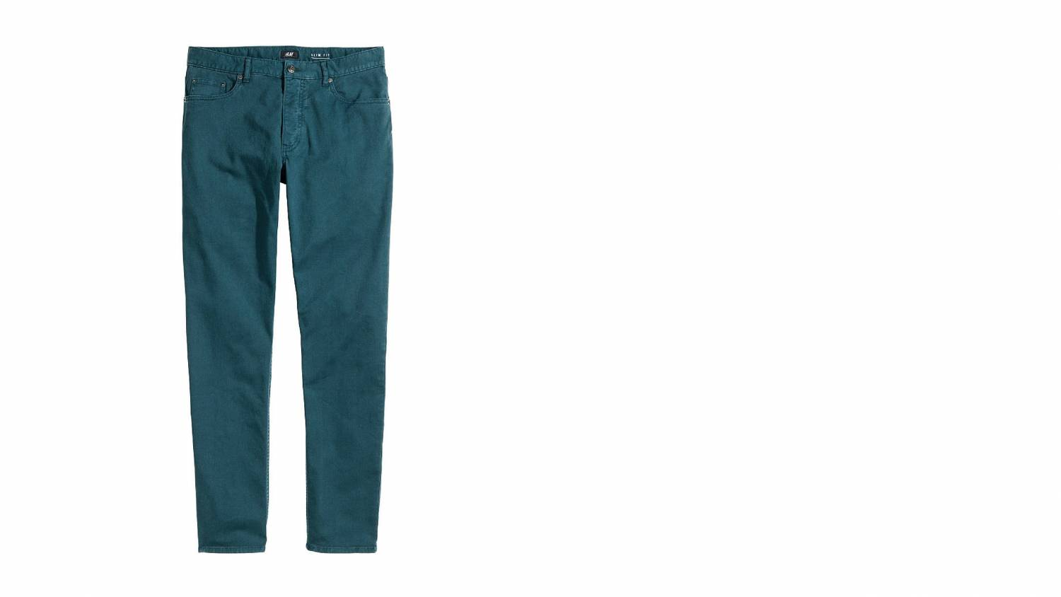 turquoise, hm, flat style, jeans, color