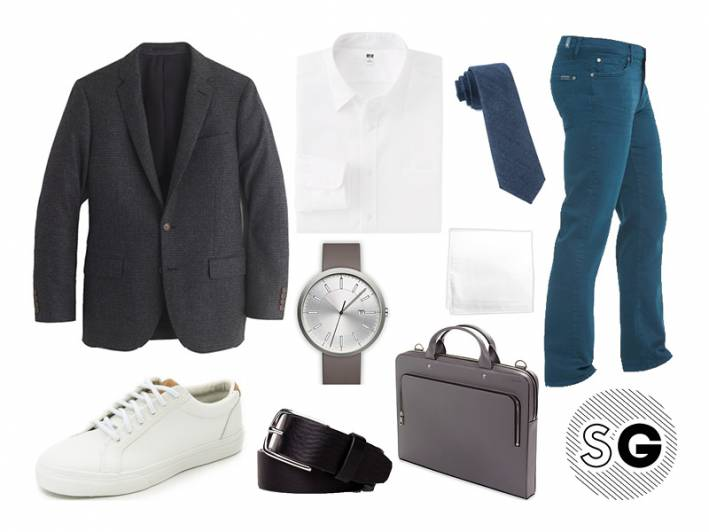 smart casual, office casual, business lunch