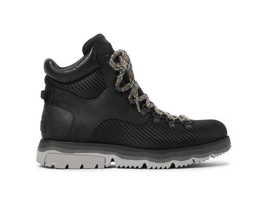 Sorel Atlis Axe Waterproof Canvas-Trimmed Nubuck Boots