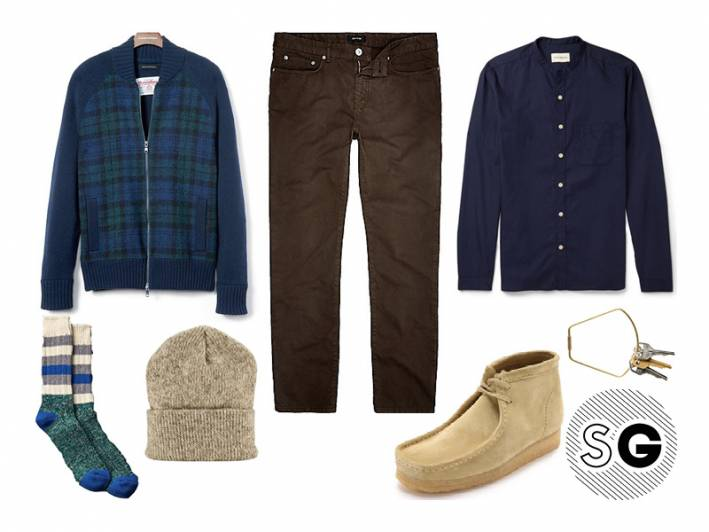 apres ski, casual, hippie, wallabee, clarks, 70's, moccassin