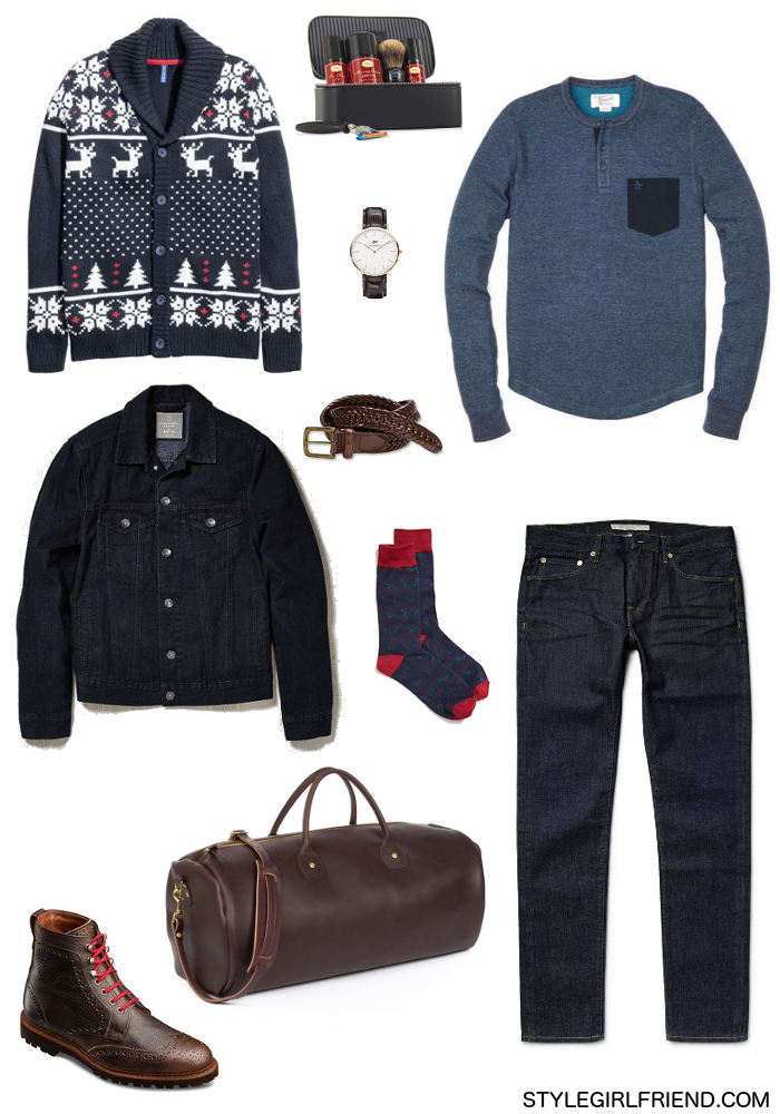 ugly christmas sweater outfit