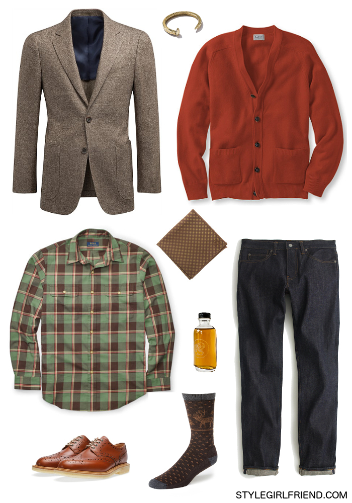 what to wear with orange