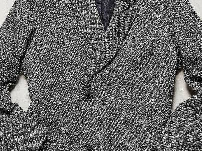 Tweed Top Coat Outfit Inspiration