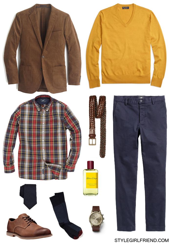 What to Wear...with a Corduroy Blazer