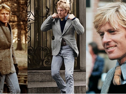 Steal His Look: Robert Redford In A Dressed Up Chambray Shirt