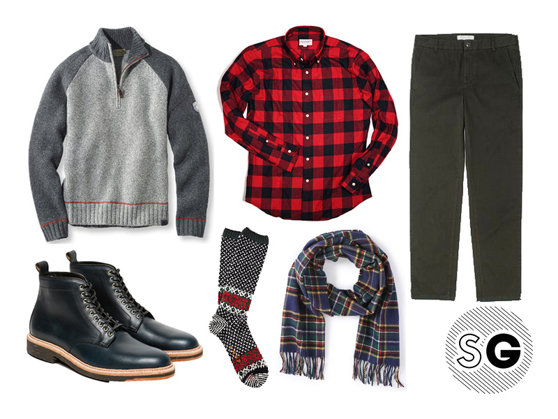buffalo plaid outfits for guys