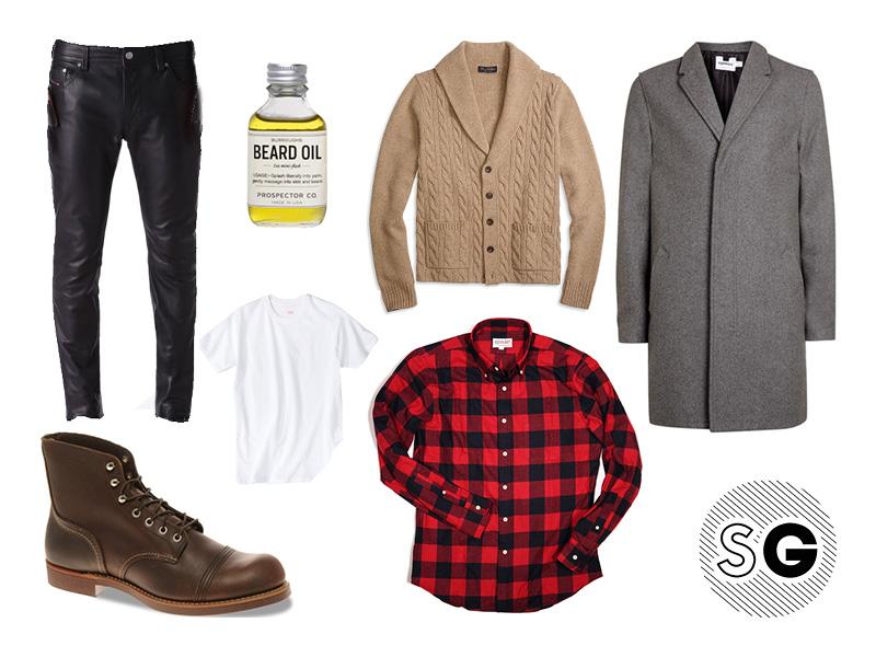 buffalo check outfits for guys