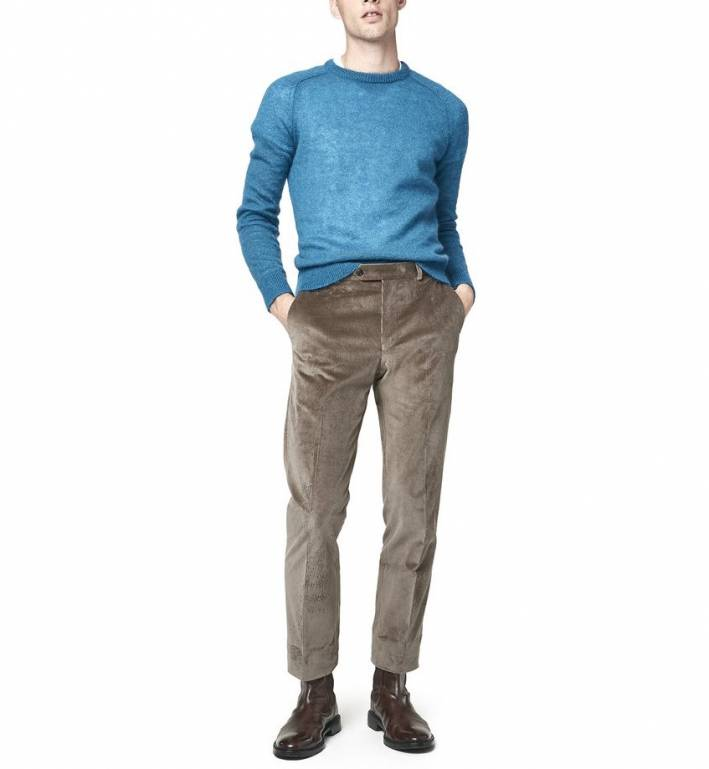 what to wear with corduroy trousers