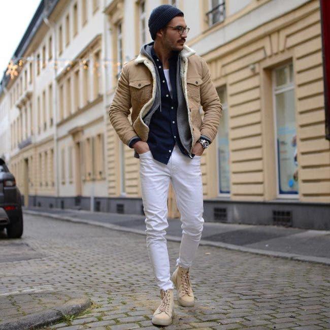 justus f hansen white jeans