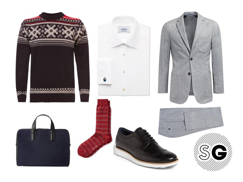suit, sweater, casual suit,
