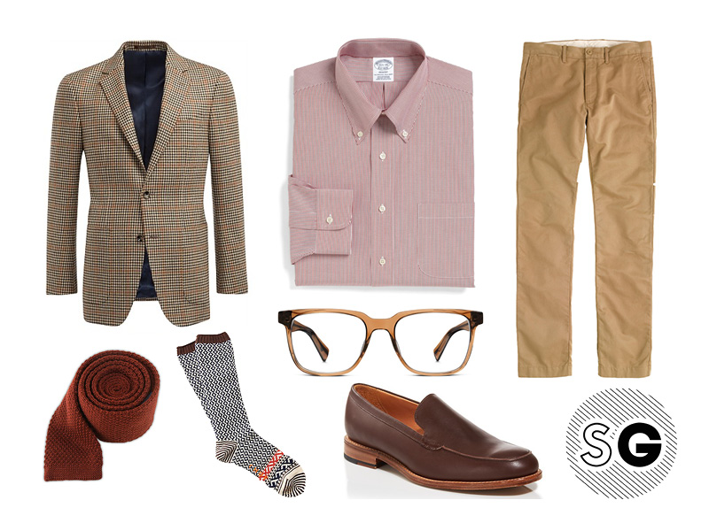mark mcnairy, warby parker, j.crew, brooks brothers, suit supply, pattern play