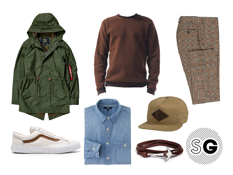 casual, o'neill, suit supply, miansai, chambray, swell, urban outfitters