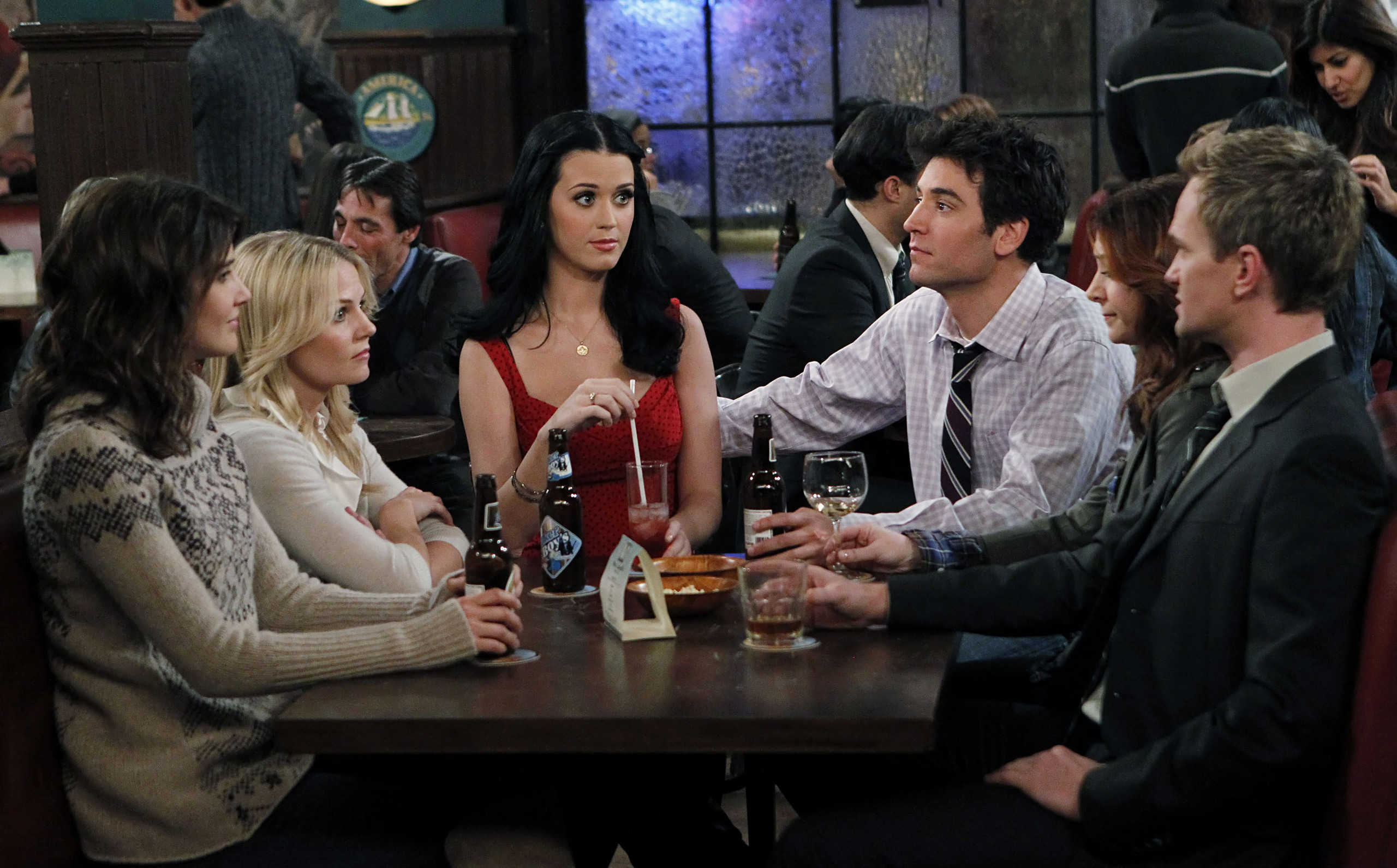 how i met your mother dates, himym dates, how to introduce your date to your friends