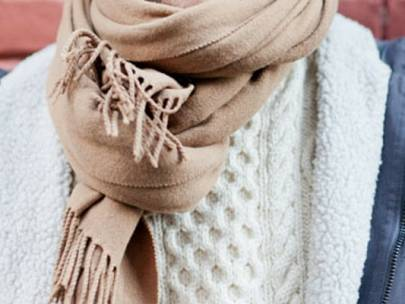 Style Hack: An Easy Way to Wear Scarves