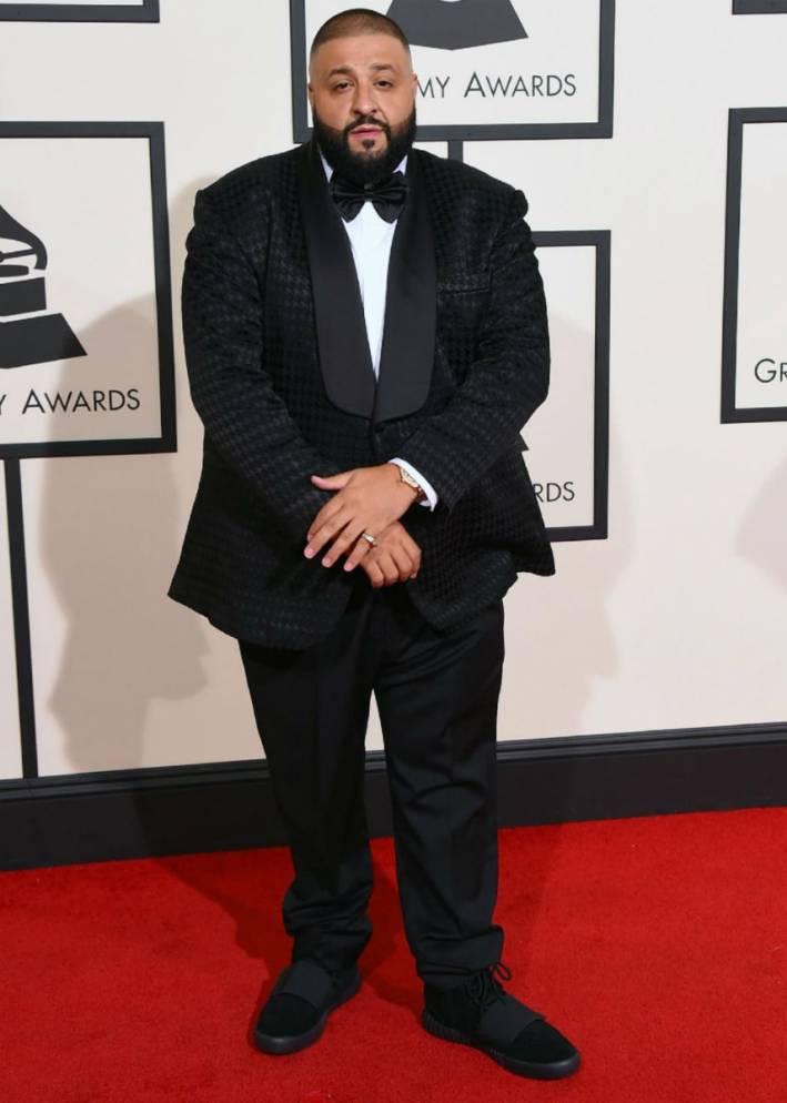 dj khaled, best dressed men 2016 grammys, mens style, grammys 2016