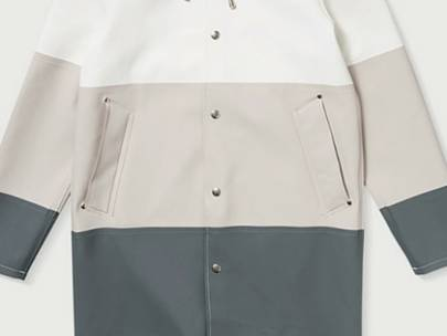 What to Wear...with a Men's Raincoat