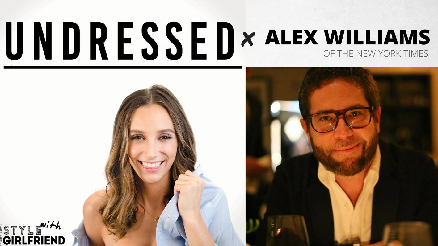 alex williams, new york times, podcast, undressed, a cup of jo