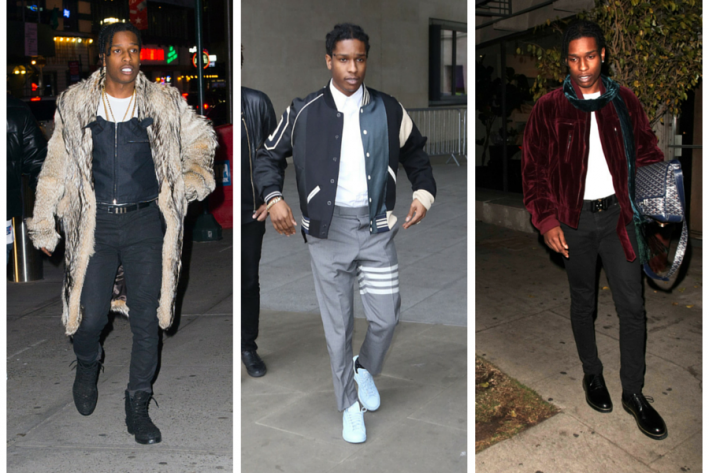 sg madness, march madness, men's style madness, A$AP Rocky