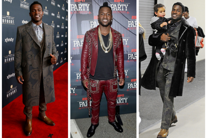 sg madness, march madness, men's style madness, Antonio Brown