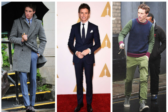 sg madness, march madness, men's style madness, Eddie Redmayne