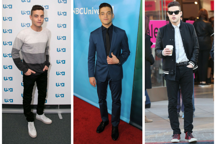 sg madness, march madness, men's style madness, Rami Malek