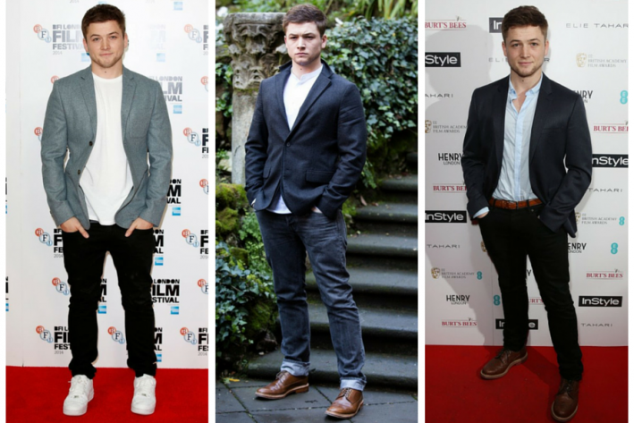 sg madness, march madness, men's style madness, taron egerton