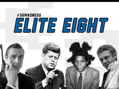 2016 Men's Style Madness Elite Eight: Kennedy & Basquiat