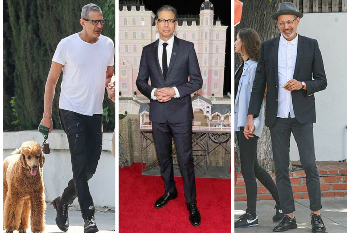 sg madness, march madness, men's style madness, jeff goldblum