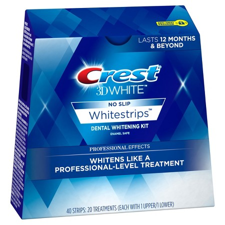 crest whitestrips, grooming for your 40s