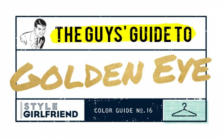 color guide, menswear, outfit inspiration, how to wear, golden