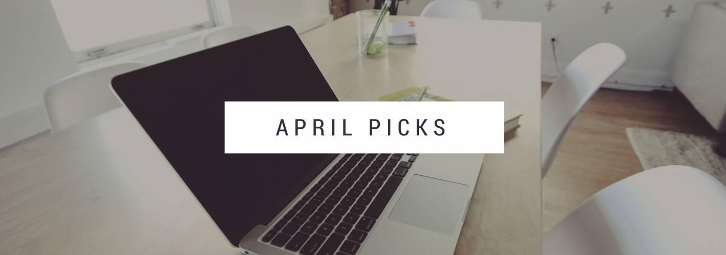 april 2016 picks, basketball and other things, shea serano, prince, sip n cycle