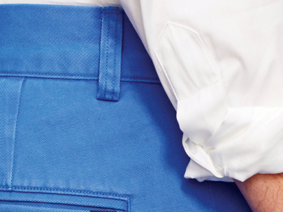 How to Wear Bright, Bluebird Blue: The Guy's Guide to Color