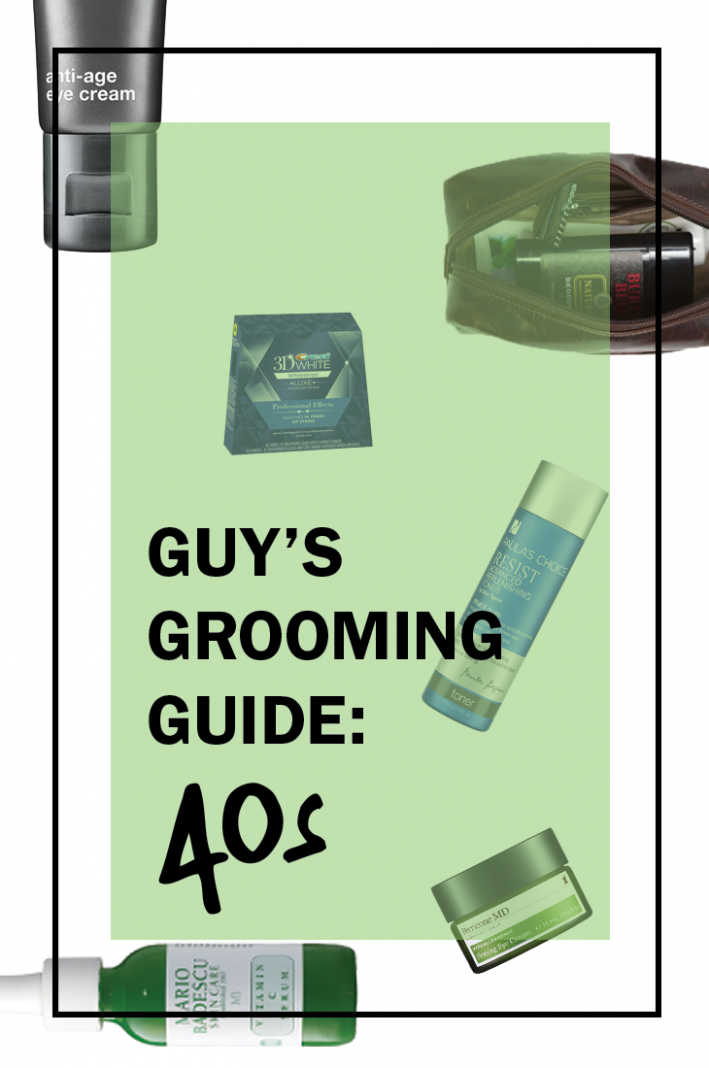 grooming for your 40s, grooming upgrades, men's grooming, men's skincare