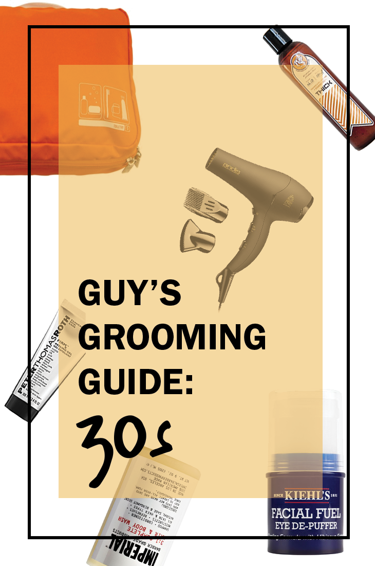 grooming guide for your 30s, mens groooming