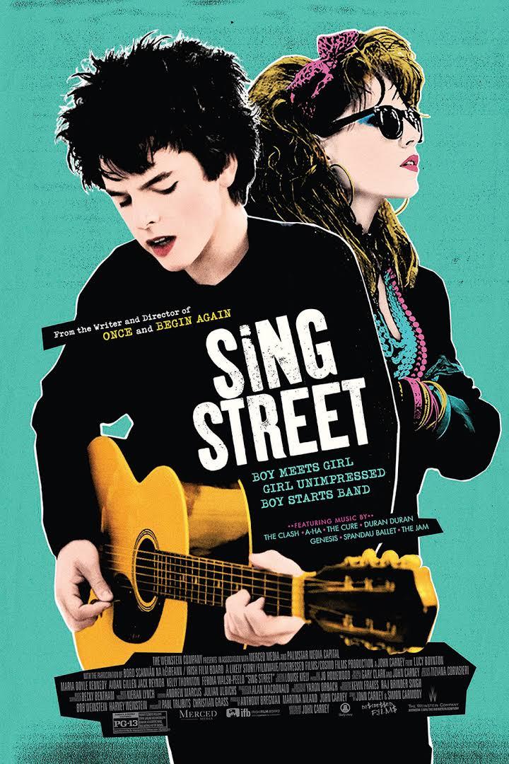 sing street, film, movie poster, independent films