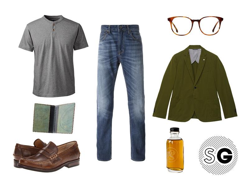 casual, will arnett, casual blazer, flaked, netflix, celeb inspired