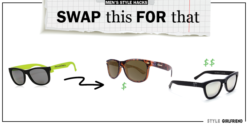 style upgrade, style swaps, swap this for that, sunglasses, wayfayers