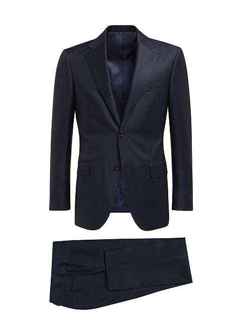 suit, navy,