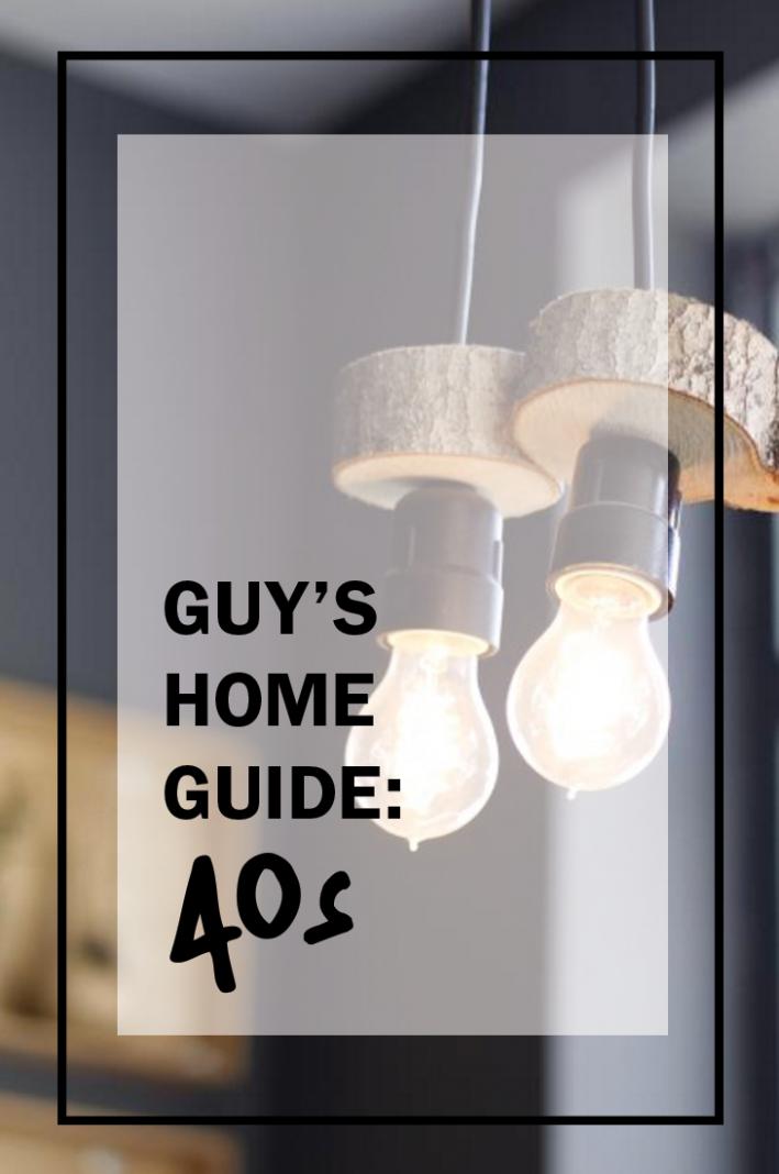 40s home guide, home decor, home decor for men, men's home