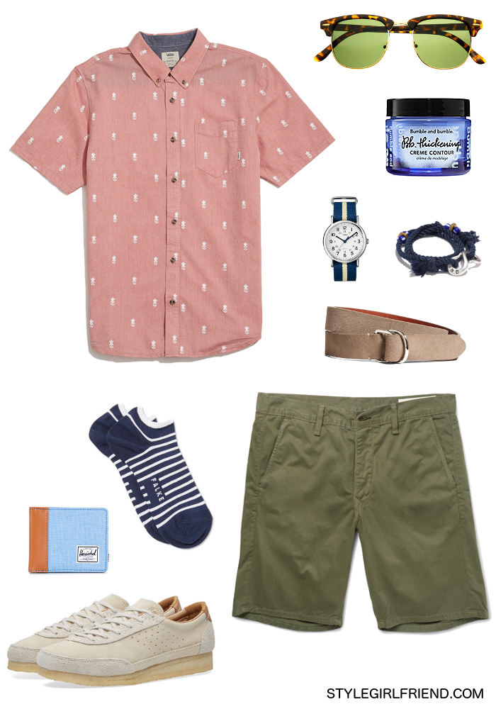 how to wear salmon, salmon, color guide, men's style