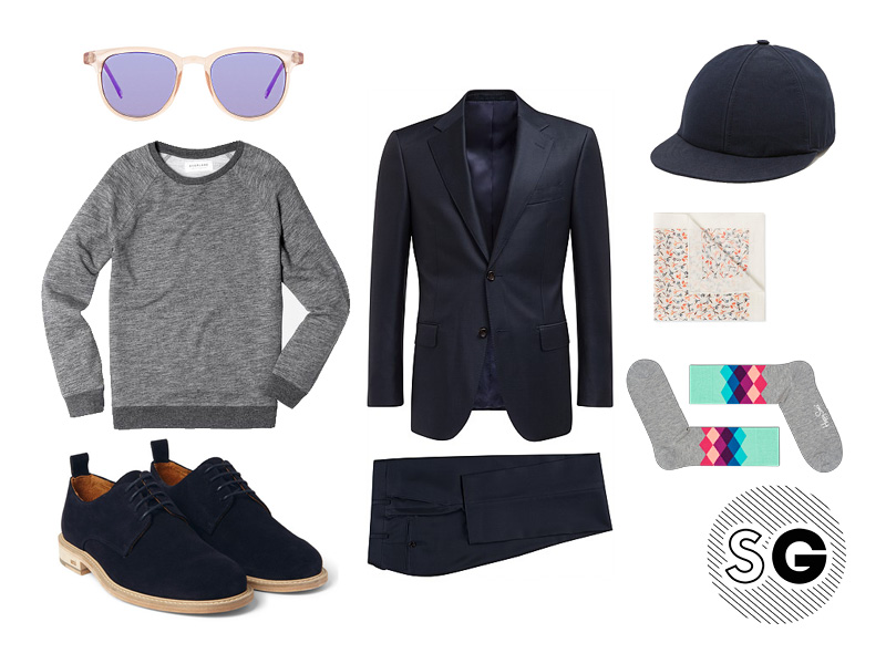paul smith, happy socks, ami, everlane, komono