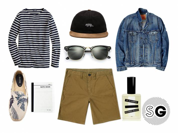 cap, saint james, j,crew,paul smith, apica, notebook, french, tres chic, blackbird, fragrance, broken glass