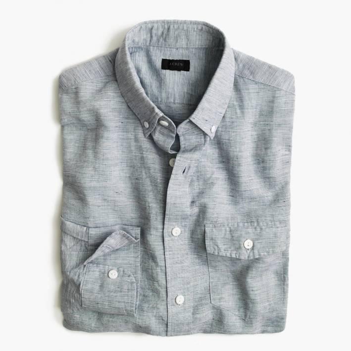 men's summer style, men's, save, invest, summer style, 2016 summer style, jcrew, linen shirt, men's linen shirt