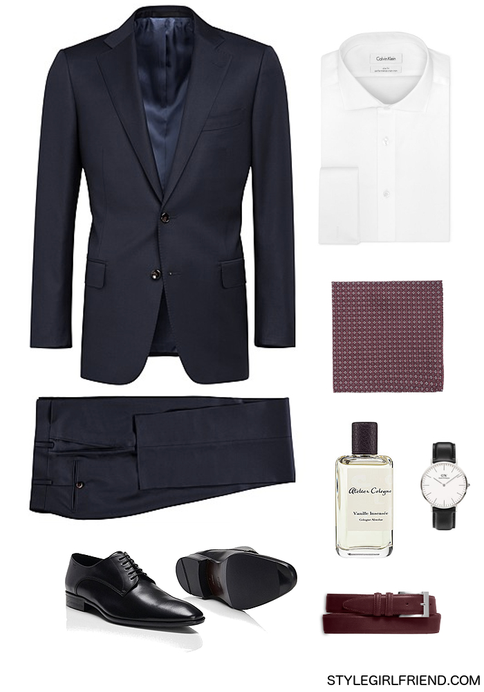 menswear, suiting, summer suit, navy suit