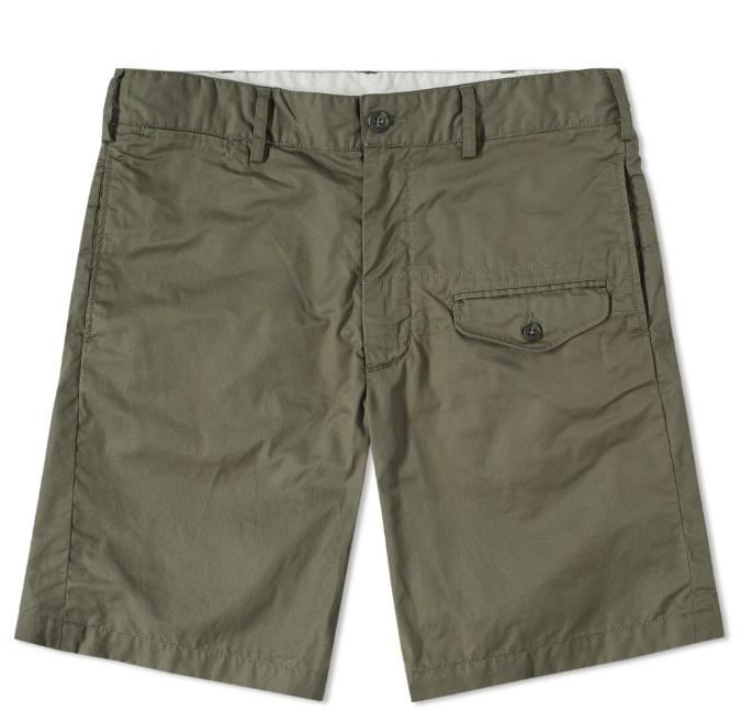 shorts, military, cargo, modern, engineered garments
