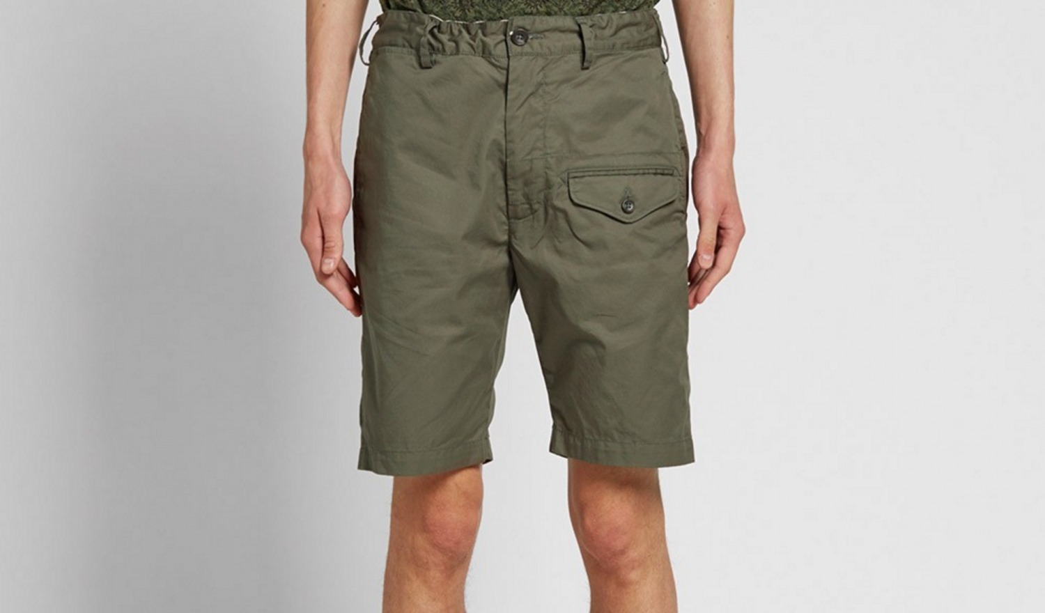 how to wear cargo shorts, cool cargo shorts, updated cargo shorts, cargo shorts 2016, engineered garments