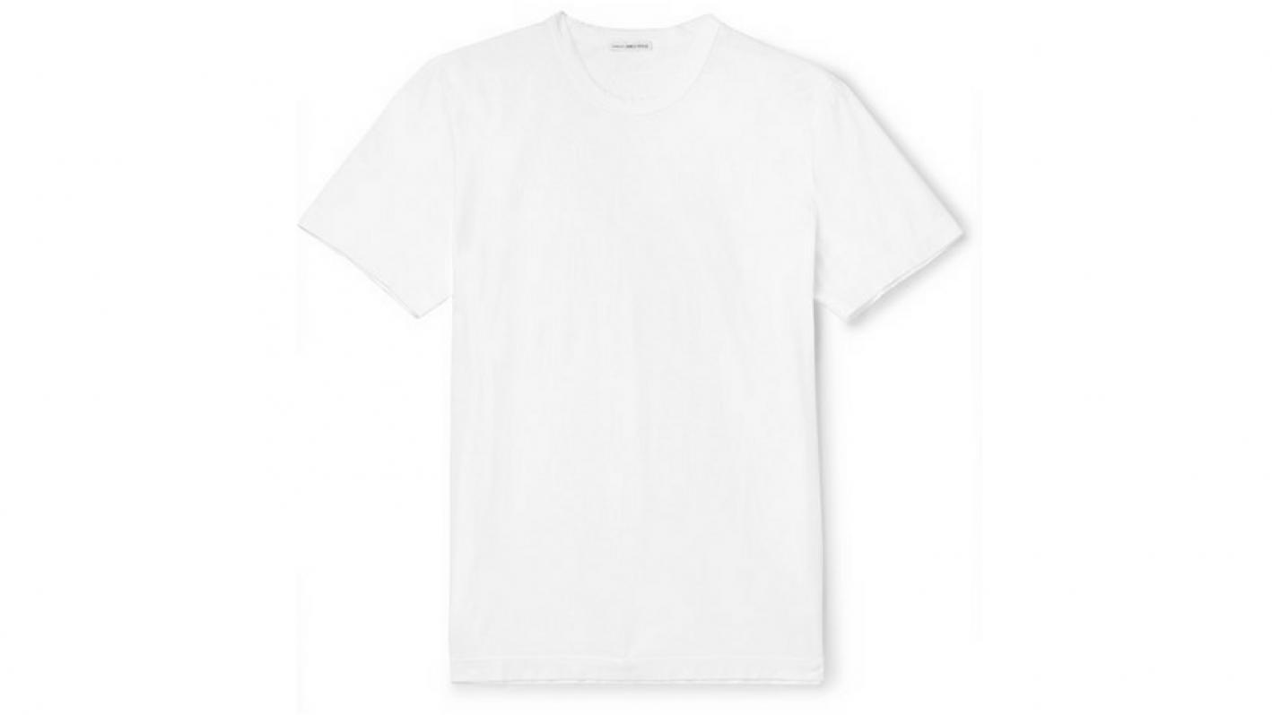 james perse white tshirt
