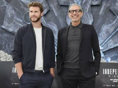 Steal His Look: Jeff Goldblum and Liam Hemsworth